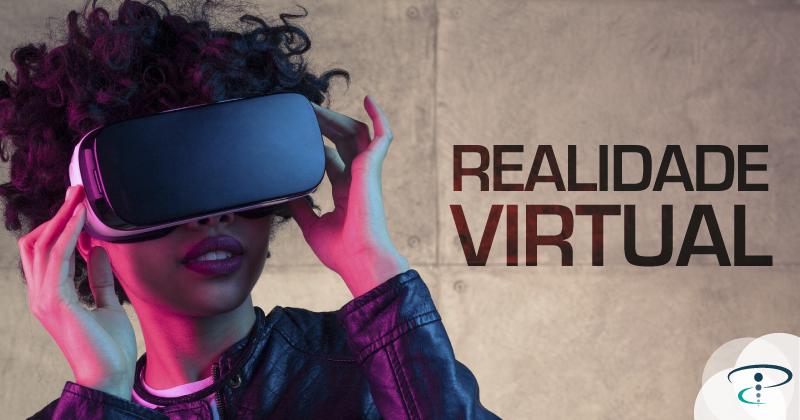 realidade virtual, mulher, oculos